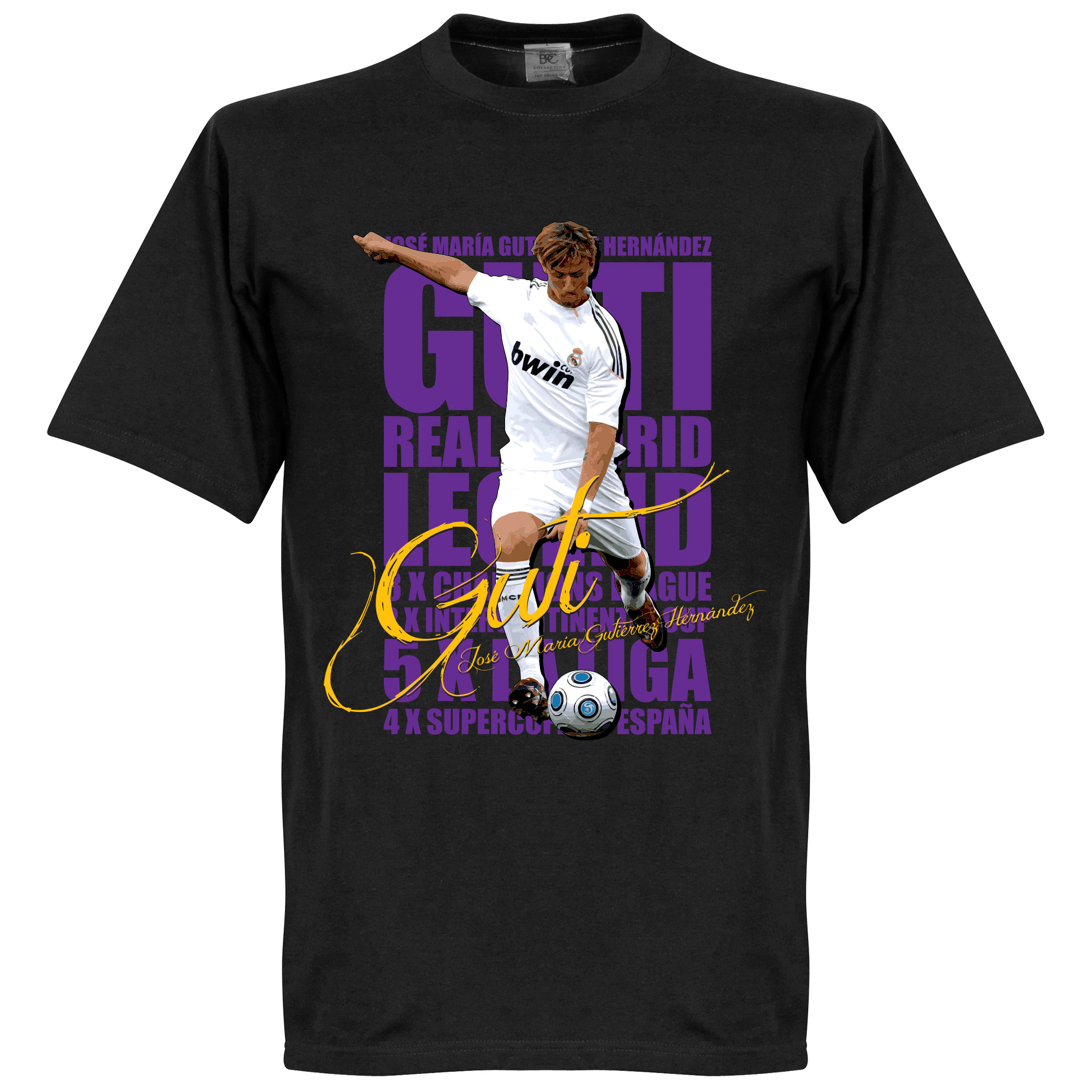 Guti Legend Tee - Black - M