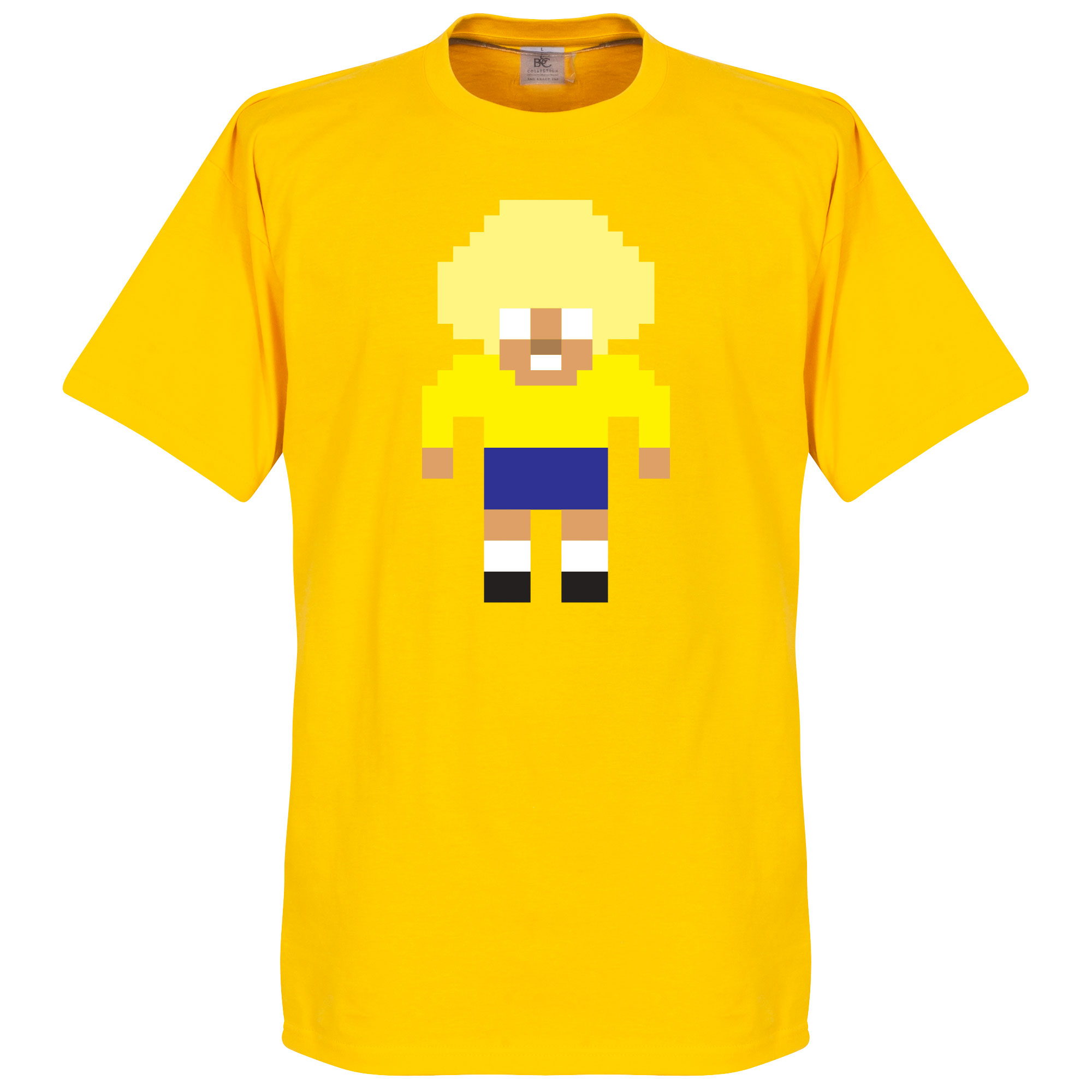 Valderrama Pixel Players Tee - Yellow - S