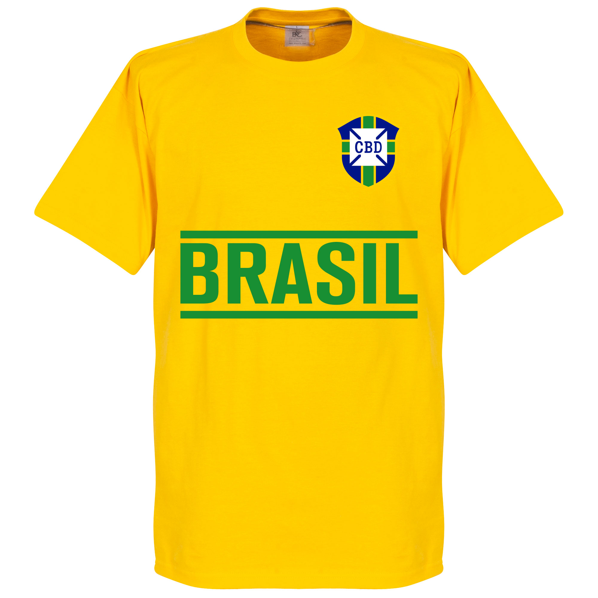 Brazil Team Tee - Yellow - S