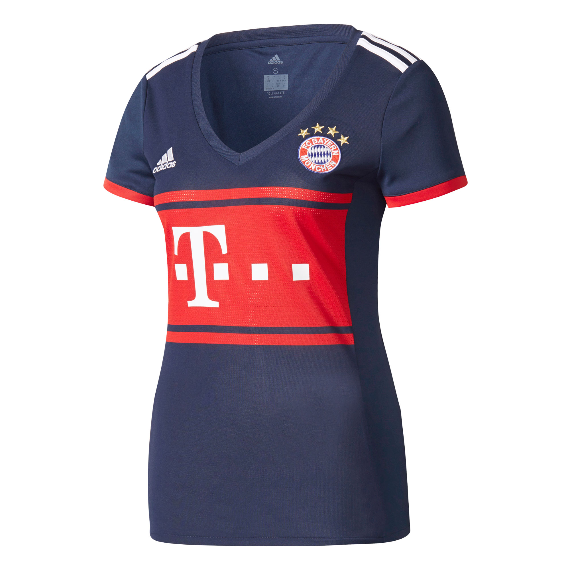 Bayern Munich Away Womens Jersey 2017 / 2018 - 40W