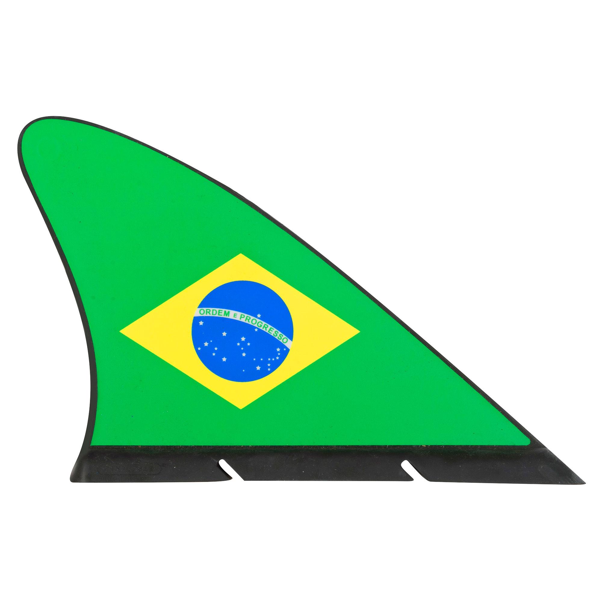 Brazil Flag Fan Fin - OS