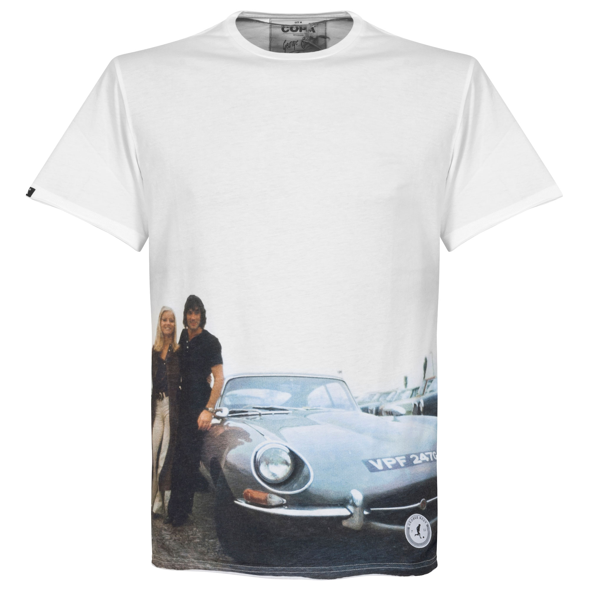 Copa E-Type All Over Print Tee - White - M