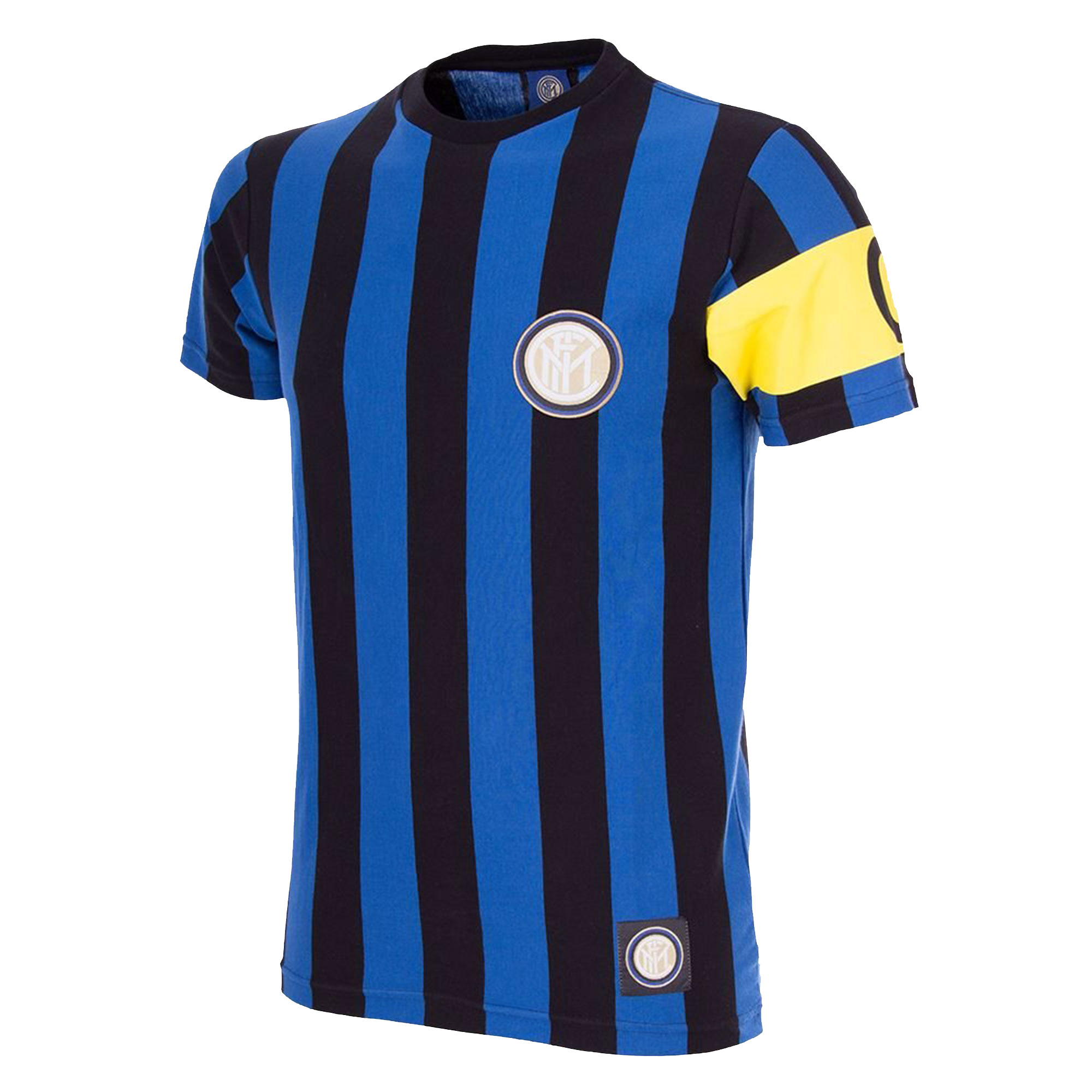 COPA F.C. Internazionale Home Captain Tee - Blue/Black - M