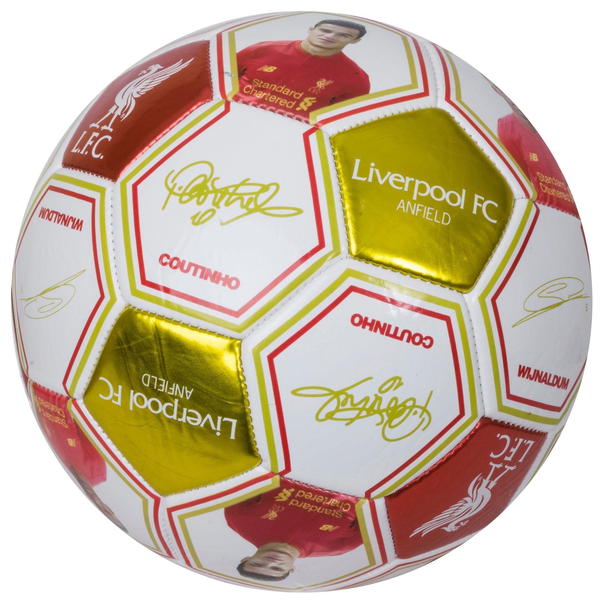 Liverpool Photo Signature Ball - OS