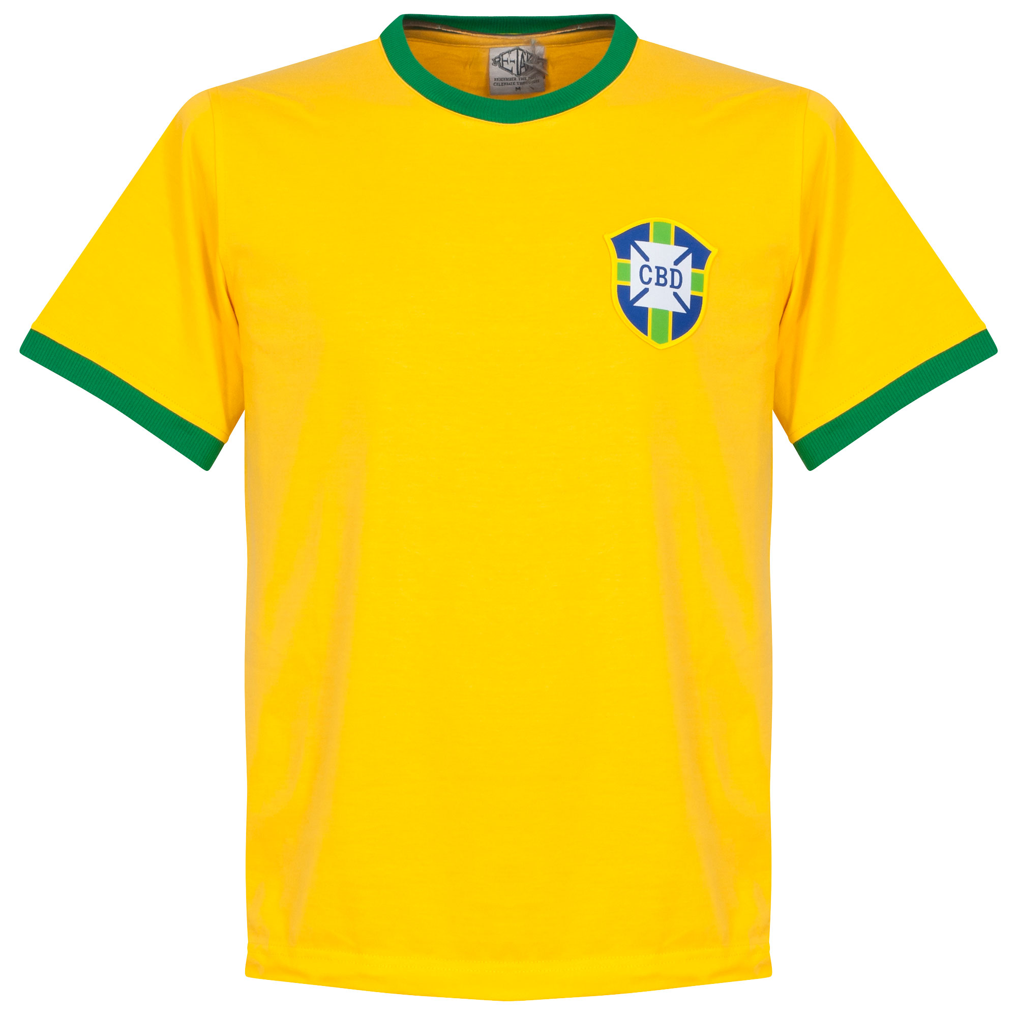 Re-Take Brazil Home Retro Shirt (Crew Neck) - XXL