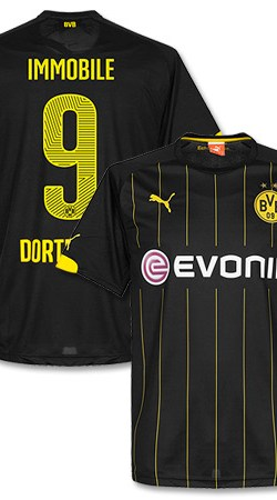 Borussia Dortmund Away Immobile Jersey 2014 / 2015 - XL