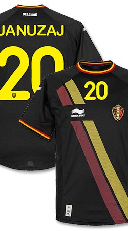 Belgium Away Januzaj Jersey 2014 / 2015 - XL