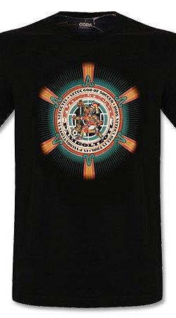 Dios Azteca Basic Tee - Black - M