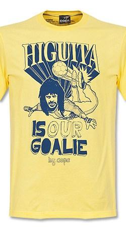 Copa Higuita Tee - Yellow - S