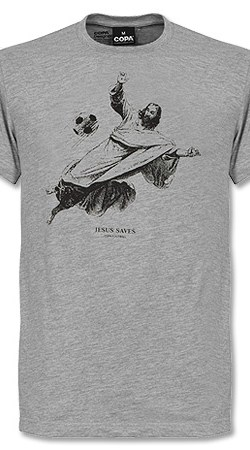 COPA Jesus Saves Tee - Grey - XL
