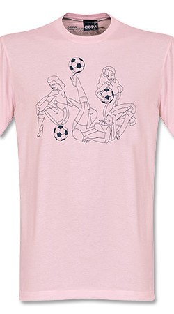 Copa Pin Up Tee - Pink - M