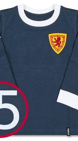 "COPA ""My First Football Shirt"" Scotland Home L/S Retro Shirt - Boys - 68"
