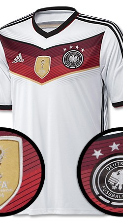 Germany Home 4 Star Boateng Jersey 2014 / 2015 (Official Printing) - 58