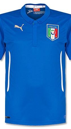 Italy Home Boys Jersey 2014 / 2015 - 176