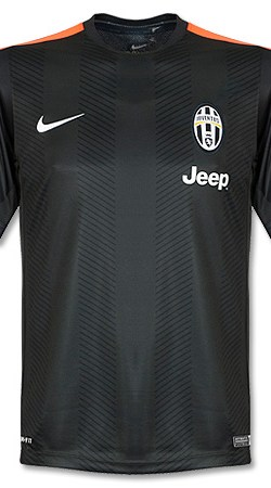 Juventus Pre Match Top 2014 / 2014 - Grey/Orange - S