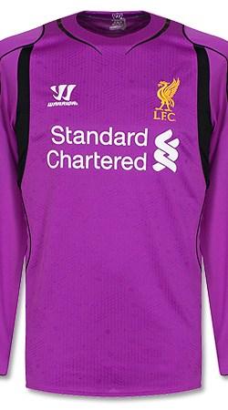 Liverpool Home L/S Goalkeeper Jersey 2014 / 2015 - XL