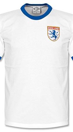 1970s England Home Retro Shirt - L