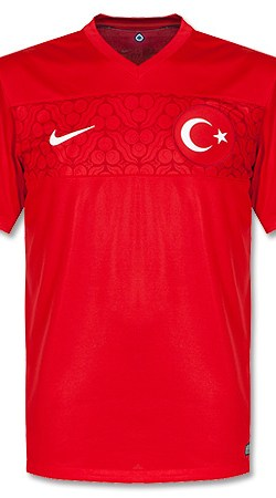 Turkey Home Jersey 2014 / 2015 - XL