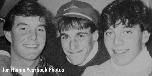 jon hamm yearbook photos