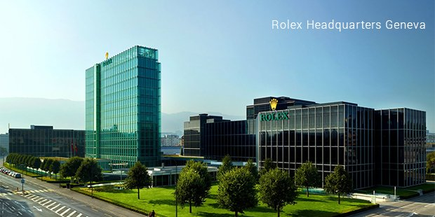 Rolex Headquarters Geneva