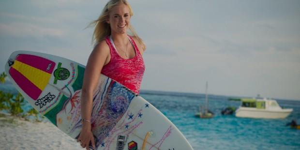 Girl On Surfboard Wallpaper Bethany Hamilton