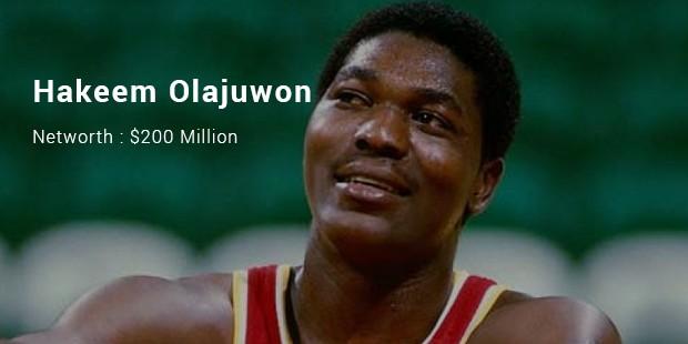 Image result for Hakeem Olajuwon ($200 Million)