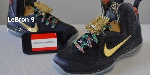 10 most expensive nike