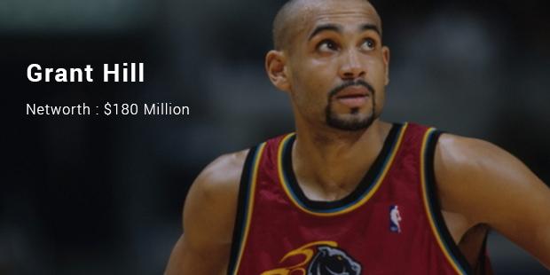 Image result for 9.Grant Hill ($180 Million)