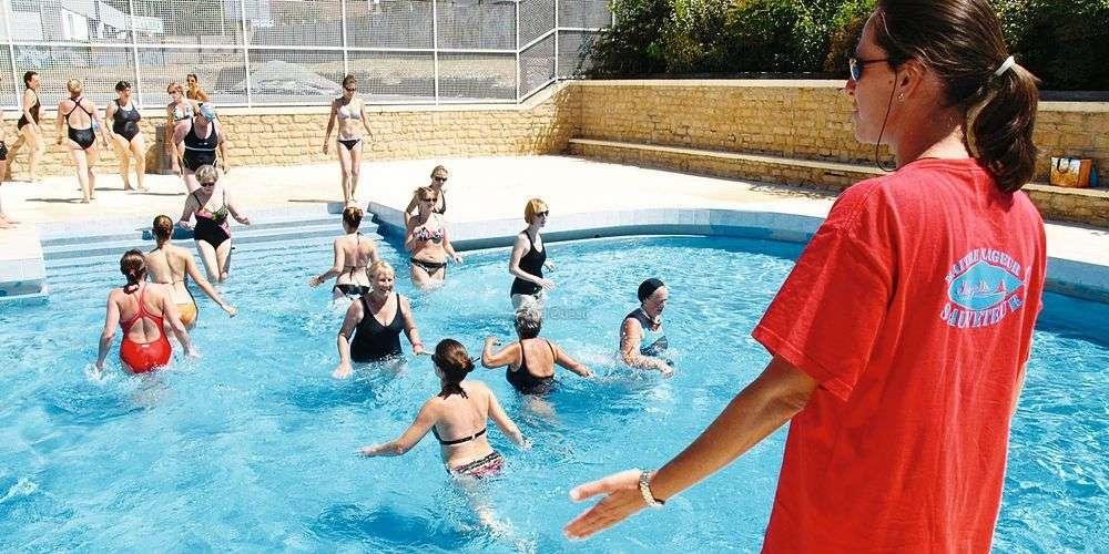 Laquagym booste la piscine municipale  Sud Ouestfr