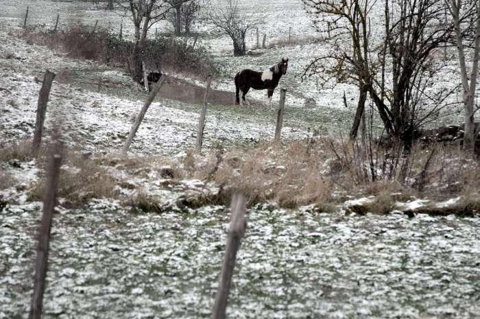 A quelle moment la neige cède la place à de la pluie verglaçante ?