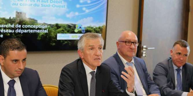 Lot-et-Garonne: 130 millions pour la fibre optique