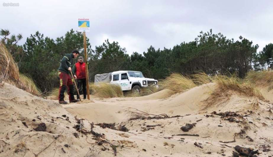 En images : après les tempêtes, le littoral néo-aquitain