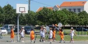 Le basket à la fête