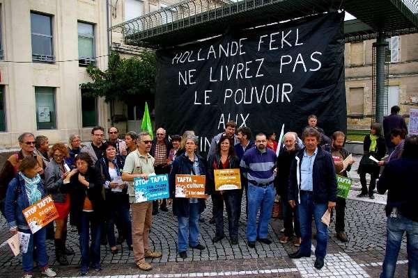 Marmande : Matthias Fekl interpellé sur le libre-échange