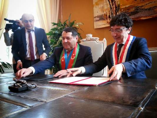 La ville de Cognac est désormais jumelée avec Tovuz, en Azerbaïdjan