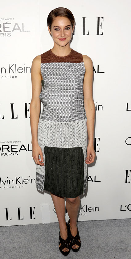 shailene woodley cuts all her hair off - divergent images - sugarscape.com
