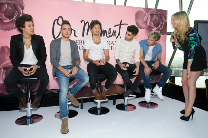 One Direction at their Our Moment launch - PICS