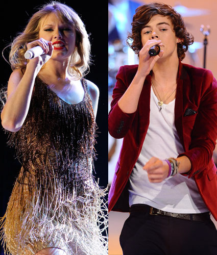 Taylor Swift adora estilos harry