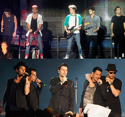 New Kids on the Block and One Direction - New Kids on the Block and One Direction images - sugarscape.com