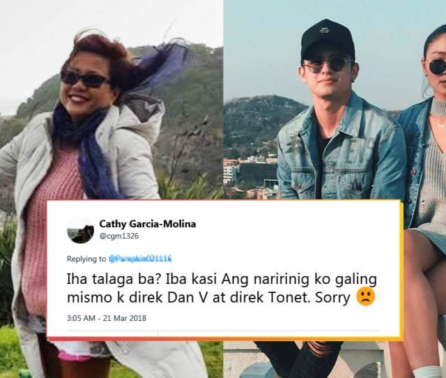 Cathy Garcia Molina Gets Into Twitter Trouble With Jadine Fans