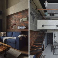 Living Room Design 2018 Philippines Serta Upholstery Collection This Loft-type Condo Is The Industrial Home Of Your Dreams ...