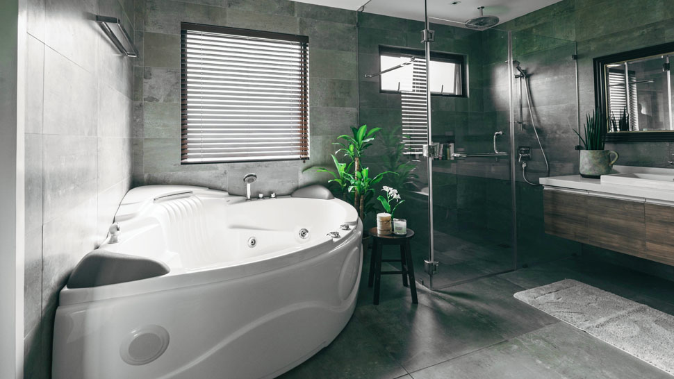 10 Beautiful Bathrooms You'd Want To Escape To