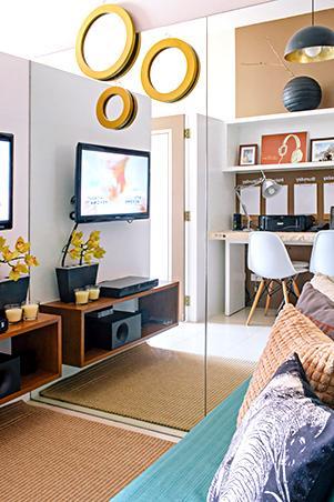 living room design ideas for condos modern false ceiling small space a 23sqm condo rl mirrors
