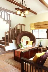 Contemporary Filipino Furnishings in a Tagaytay Log Cabin | RL