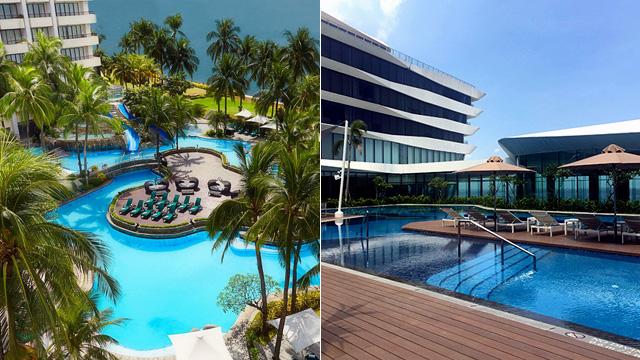 10 Pretty Hotel Swimming Pools In The City