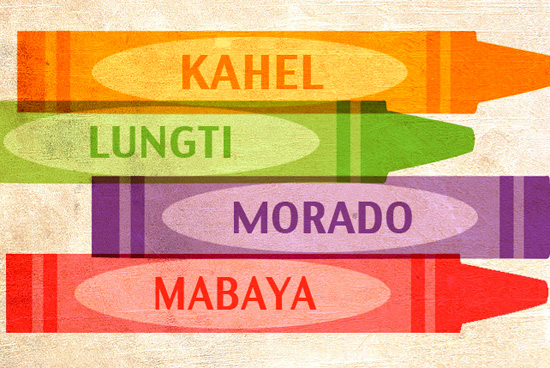 Names Of Colors In Filipino Spotph