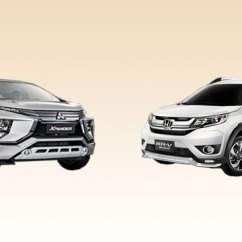 Grand New Avanza Vs Xpander Brand Camry Hybrid Spec Sheet Brawl Mitsubishi Honda Br V