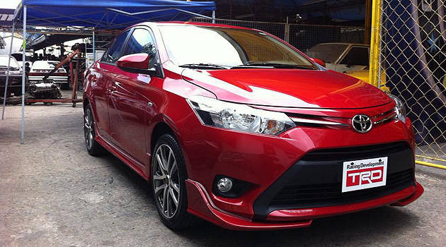 toyota yaris trd 2015 harga grand new veloz 1.5 a/t ph to display trd-kitted all-new vios at launch