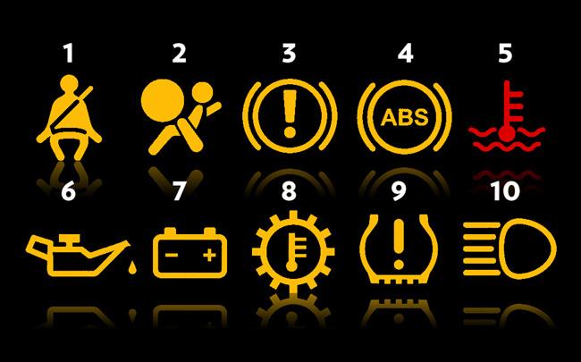 Orange Engine Warning Light Toyota Yaris | Adiklight.co