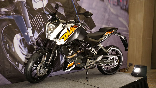 ktm bikes philippines announces